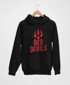 Mikina Manchester United Red Devils cierna