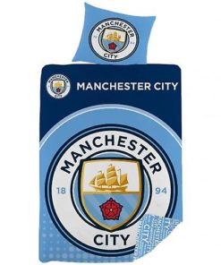 Obliečky Manchester City na perinu a vankúš