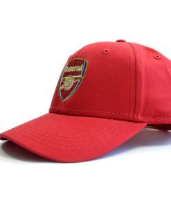 Šiltovka Arsenal s logom červená