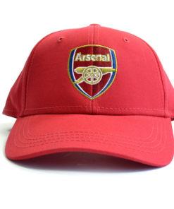Šiltovka Arsenal s logom červená logo