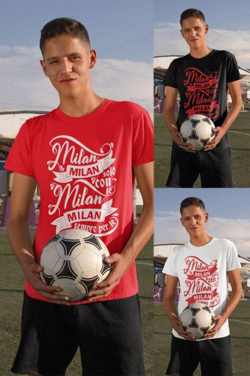 Tričko AC Miláno Solo Con Te teen