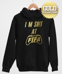 Futbalová mikina FIFA I am S**t GOLD COLLECTION