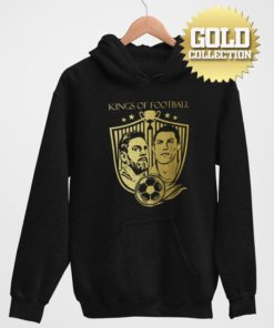 Mikina Messi Ronaldo GOLD COLLECTION