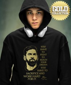 Mikina Messi s mottom GOLD COLLECTION