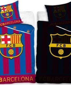 Svietiace obliečky FC Barcelona na perinu a vankúš