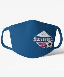 Futbalové rúško tím Slovensko modré