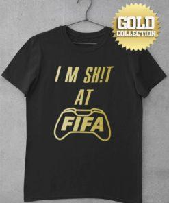 Futbalové tričko FIFA I am S**t GOLD COLLECTION
