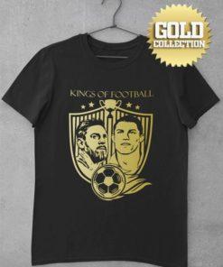 Tričko Messi Ronaldo GOLD COLLECTION