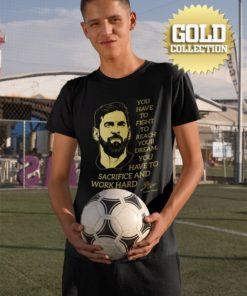 Tričko Messi s mottom GOLD COLLECTION