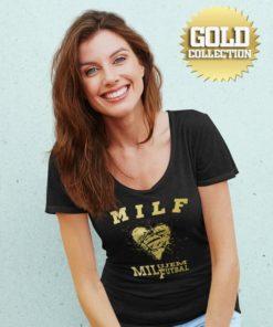 Futbalové tričko MILF Milujem futbal GOLD COLLECTION