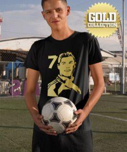 Tričko Ronaldo GOLD COLLECTION