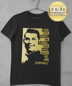 Tričko Ronaldo s mottom GOLD COLLECTION