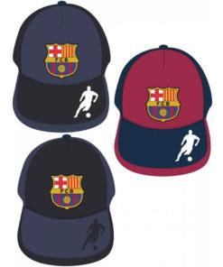 Detská šiltovka FC Barcelona s logom klubu