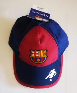 Detská šiltovka FC Barcelona bordová