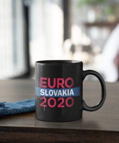 Futbalový Hrnček Euro 2020 Slovakia - s dekoráciou
