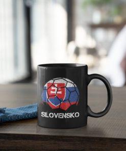 Futbalový Hrnček Slovensko - s dekoráciou