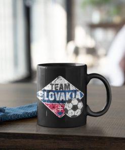 Futbalový Hrnček Team Slovakia - s dekoráciou
