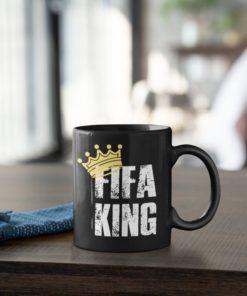 Hrnček FIFA King s dekoráciou
