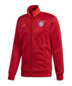Mikina Bayern Adidas Monachium 3S TRK TOP červená