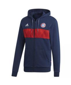 Mikina Bayern Adidas Performance modro-červená
