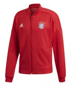 Mikina Bayern Adidas ZNE červená s logom