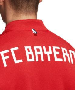 Mikina Bayern Adidas ZNE červená s nápisom