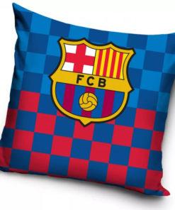Obliečka na vankúš FC Barcelona s logom klubu