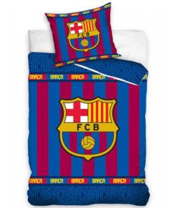Obojstranné obliečky FC Barcelona na perinu a vankúš
