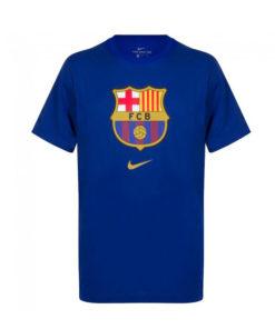 Tričko FC Barcelona Nike Tee Evergreen modrá farba