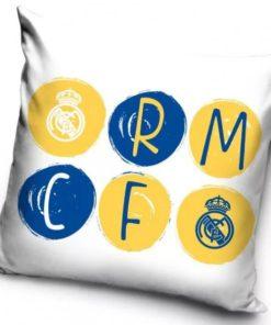 Obliečka na vankúš Real Madrid žlto modrá