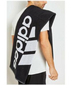 uterák Adidas čierny s logom