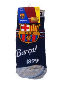 Detské ponožky Barca 1899 tmavomodré logo