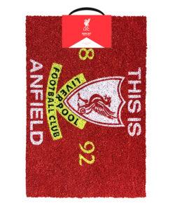 Rohožka Liverpool This is Anfield 40cm x 60cm