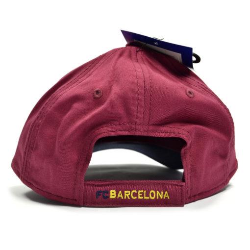 Šiltovka FC Barcelona Contrast Deluxe zapínanie s nápisom