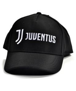 Šiltovka Juventus JJ Design čierna s nápisom a logom