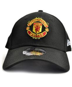 Šiltovka Manchester United New Era 9Forty čierna s logom