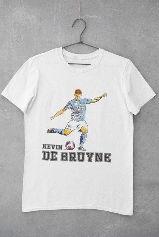 Tričko De Bruyne Manchester City biele