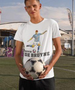 Tričko De Bruyne Manchester City biele chlapčenské