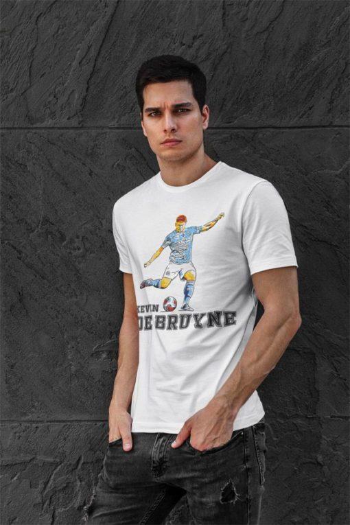 Tričko De Bruyne Manchester City biele pánske