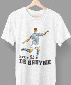 Tričko De Bruyne Manchester City svetlosivý melír