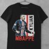 Tričko Mbappe PSG čierne