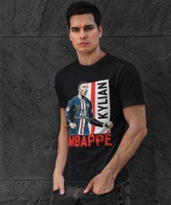 Tričko Mbappe PSG čierne pánske