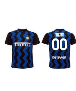 Dres Inter Miláno s vlastným menom a číslom
