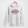 Mikina EURO Slovakia biela