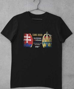 Tričko Slovensko - Švédsko EURO