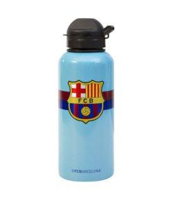 Fľaša Barcelona slabo modrá Aluminium 400ml